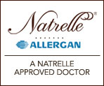 A Natrelle Approved Doctor badge